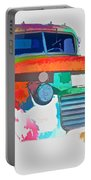 Abstract Jimmy Portable Battery Charger