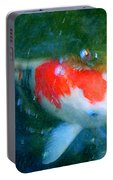 Abstract Koi 3 Portable Battery Charger