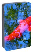 Abstract Koi 4 Portable Battery Charger