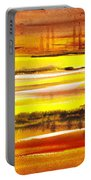 Abstract Landscape Found Reflections Portable Battery Charger
