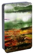 Abstract Landscape Sunrise Sunset Portable Battery Charger