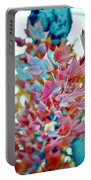 Abstract Leaves Portable Battery Charger