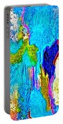 Abstract Melting Planet Portable Battery Charger
