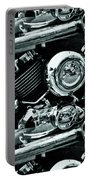 Abstract Motor Bike - Doc Braham - All Rights Reserved Portable Battery Charger