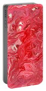 Abstract - Nail Polish - My Ice Cream Melted Portable Battery Charger by Mike Savad