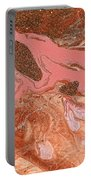 Abstract - Nail Polish - The Flow Of The Universe Portable Battery Charger