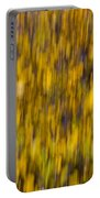 Abstract Of Autumn Gold Portable Battery Charger