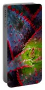 Abstract Of Bromeliad Portable Battery Charger