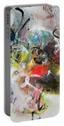 Abstract Painting Colourful Art Portable Battery Charger