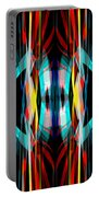 Abstract Pattern 3 Portable Battery Charger