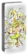 Abstract Pen Drawing Fifty-seven Portable Battery Charger