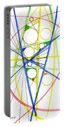 Abstract Pen Drawing Seventy-three Portable Battery Charger