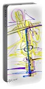 Abstract Pen Drawing Seventy-two Portable Battery Charger