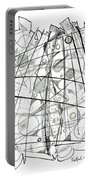 Abstract Pen Drawing Sixty-eight Portable Battery Charger
