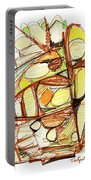 Abstract Pen Drawing Sixty-three Portable Battery Charger