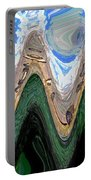 Abstract - Penguins On Ice Portable Battery Charger