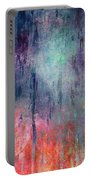 Abstract Print 25 Portable Battery Charger