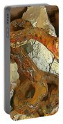 Abstract Rattlesnake Portable Battery Charger