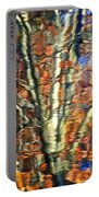 Abstract Reflection Photo Portable Battery Charger