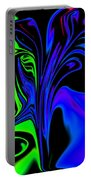Abstract Series 5 Number 2 Portable Battery Charger