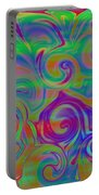 Abstract Series 5 Number 3 Portable Battery Charger