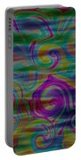 Abstract Series 5 Number 4 Portable Battery Charger