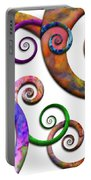 Abstract - Spirals - Planet X Portable Battery Charger