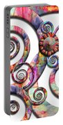 Abstract - Spirals - Wonderland Portable Battery Charger