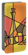 Abstract Still Life 2 Portable Battery Charger