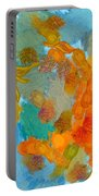 Abstract Summer #2 Portable Battery Charger by Pixel Chimp