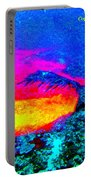 Abstract Sunset As A Painting Portable Battery Charger