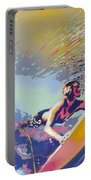 Abstract Surf Portable Battery Charger