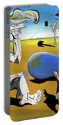 Abstract Surrealism Portable Battery Charger