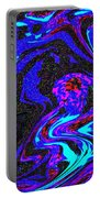 Abstract Swirl Art Portable Battery Charger