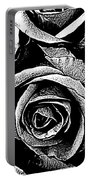 Dark Star Roses For David Bowie Portable Battery Charger