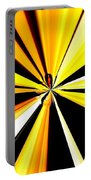 Abstract Tiger Art Portable Battery Charger