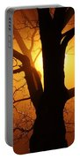 Abstract Tree Portable Battery Charger