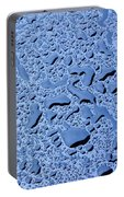 Abstract Water Drops Portable Battery Charger