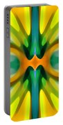 Abstract Yellowtree Symmetry Portable Battery Charger by Amy Vangsgard