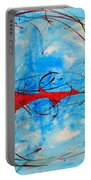 Abstraction 61 Portable Battery Charger