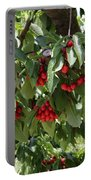Abundant Cherries Portable Battery Charger