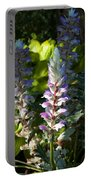 Acanthus Flower Portable Battery Charger