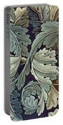 Acanthus Leaf Design Portable Battery Charger by William Morris