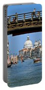 Accademia Bridge In Venice Italy Portable Battery Charger
