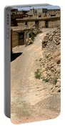 Acoma Pueblo Street Scene Portable Battery Charger