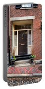 Acorn Street Door And Lamp Portable Battery Charger