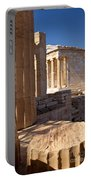 Acropolis Temple Portable Battery Charger by Brian Jannsen