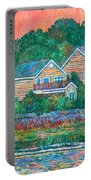 Across The Marsh At Pawleys Island       Portable Battery Charger
