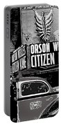 Actor Co-writer Director Orson Welles Premier  Citizen Kane Palace Theater New York  May 1 1941-2014 Portable Battery Charger