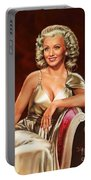 Actress Carole Landis Portable Battery Charger